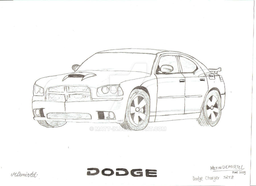 dodge charger hemi srt8 by matt