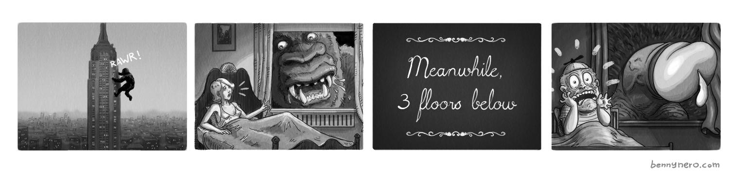 Kong Kong by bennynero