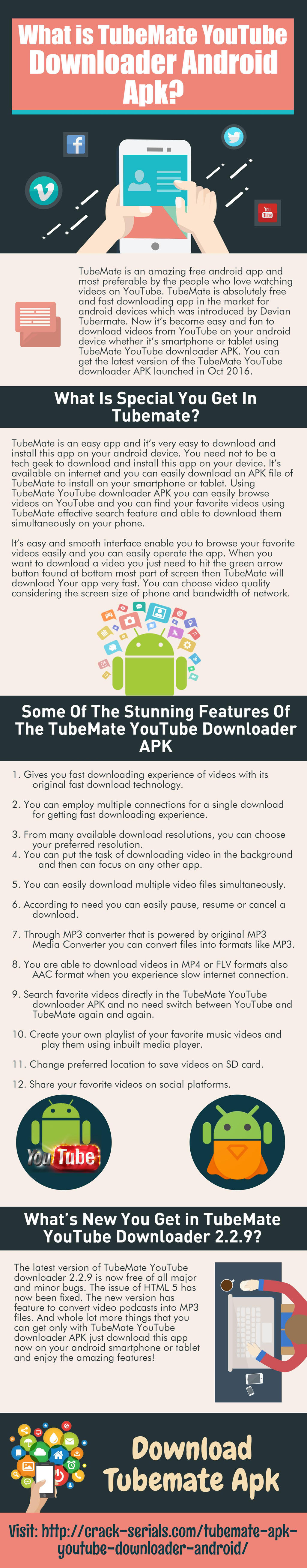 What is TubeMate YouTube downloader android APK by hoggkevin