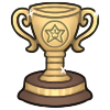 Gold Trophy by LogosLibrary