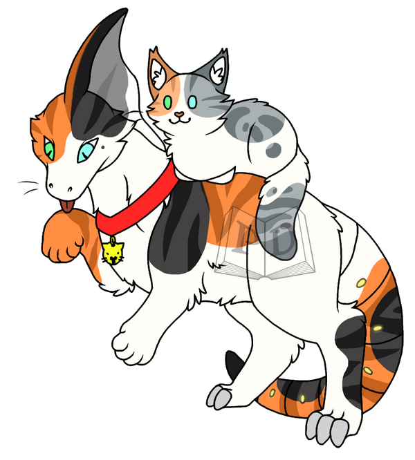 #318 Calico Cat