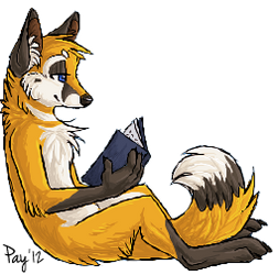 Enjoying a Book by Payasa