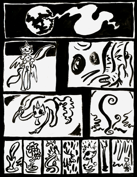Good Little God page 1.14 by skeletonzoo