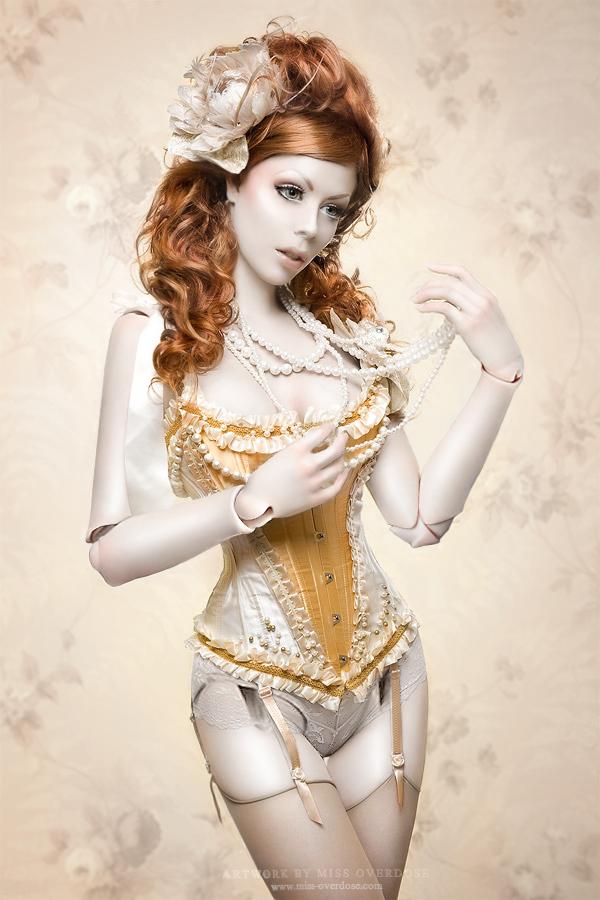 bjd  - miss Ophelias Overdose by AirinArt