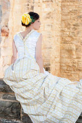 1880 Vintage Inspired Dress by TheJulyStudio