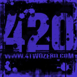 4twozero.com square sticker by airenaki