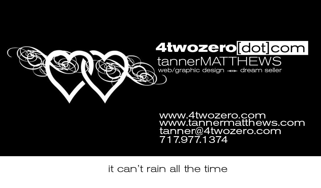 4twozero Business Card - Front