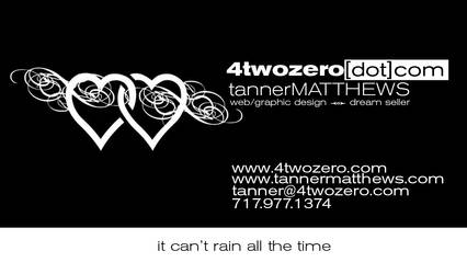 4twozero Business Card - Front by airenaki