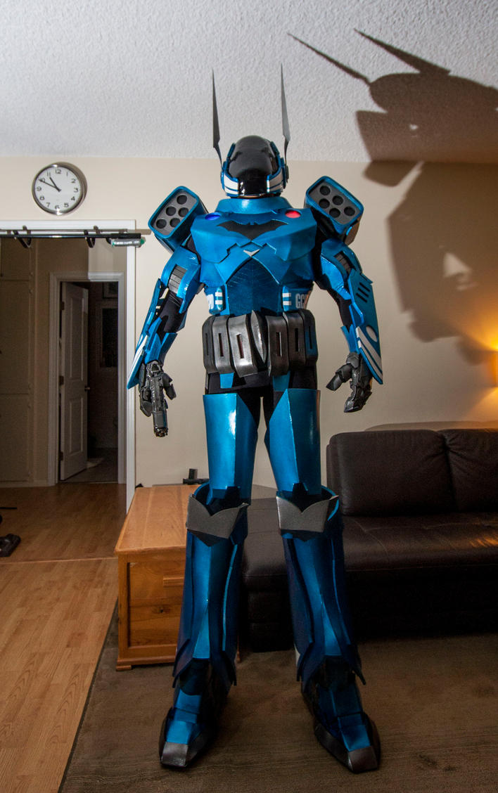 Jim Gordon Batman Armor by RadiationActor
