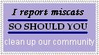 Miscat Clean Up Stamp by ATrue
