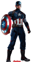 Captain America AoU PNG / RENDER