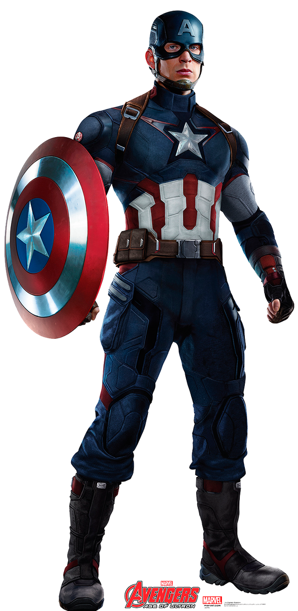 Captain America AoU PNG / RENDER by Joaohbd on DeviantArt