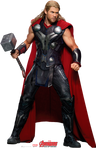 Thor PNG/RENDER from Marvel's The Avengers AoU