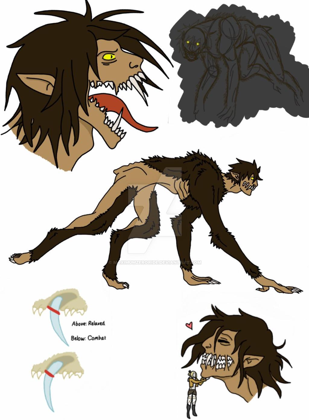 Feral Titan sketchdump  Updated  by MaximumZeroRide
