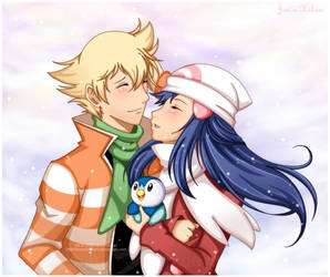 JunHika : First Winter's Snow by Harumi-Chan