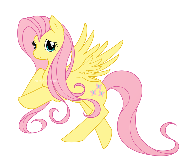 MLP: Fluttershy by Harumi-Chan