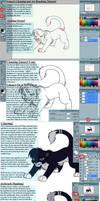 Lineart and Airbrushing Tutori