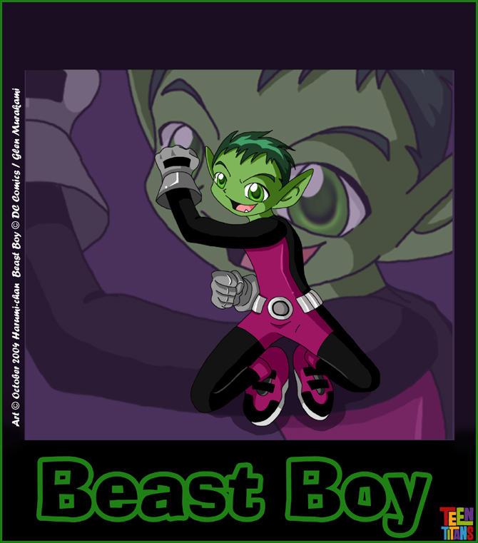 Teen Titans: Beast Boy by Harumi-Chan