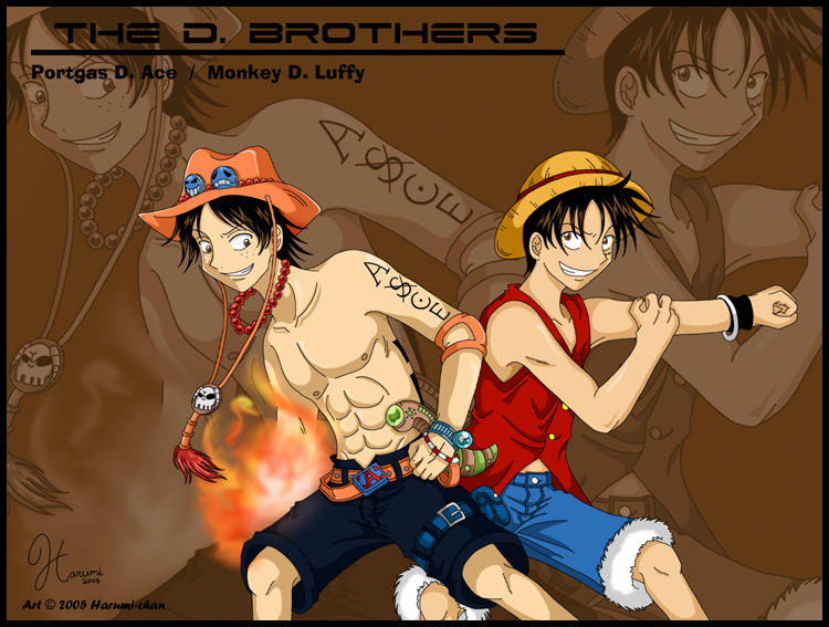 One_Piece___The_D__Brothers__by_Harumi_Chan