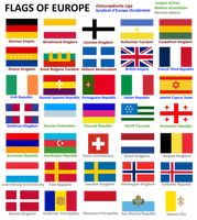 Alternate History Project: Flags of Europe