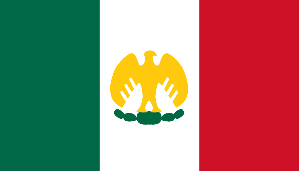 Flag Mexico By Void Wolf On Deviantart