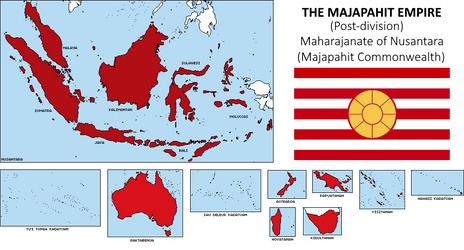 EUIV Nation: Majapahit Empire by Void-Wolf