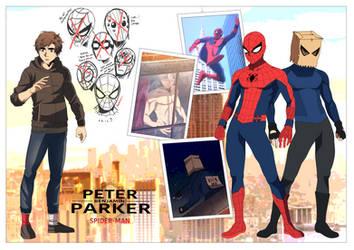 EARTH 6160: Hero Origin- Spider-Man by Void-Wolf