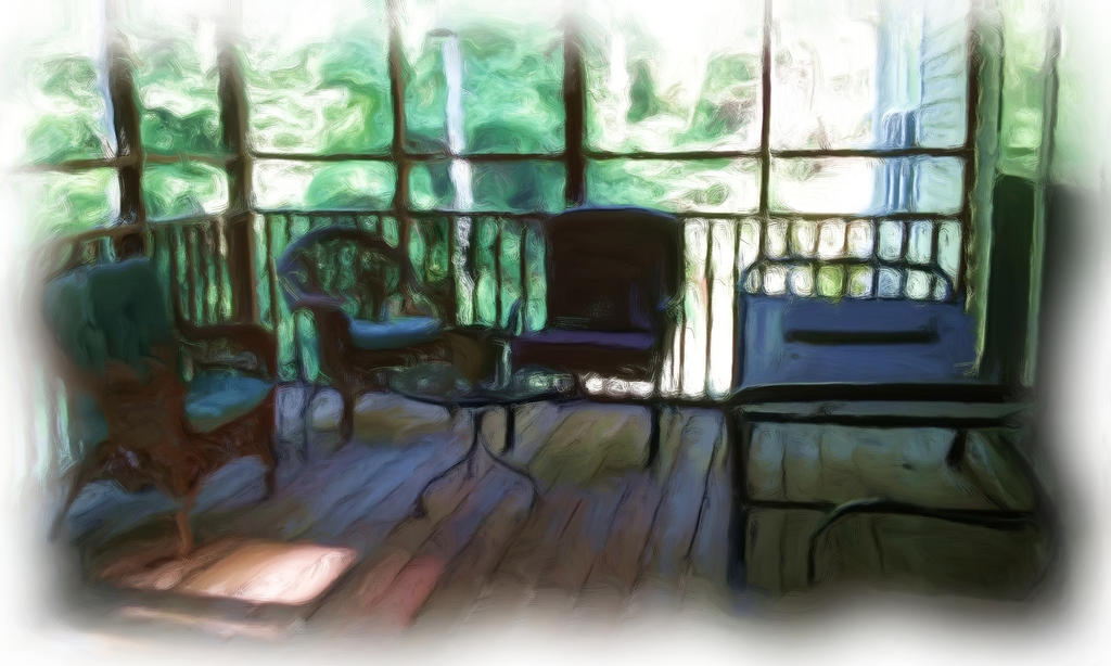 Backporch by amy-octaputer