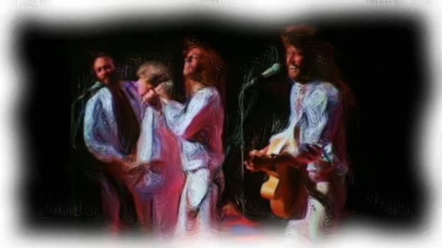 Bee Gees cool Painting