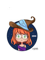 Witch Icon by AeriGraphy