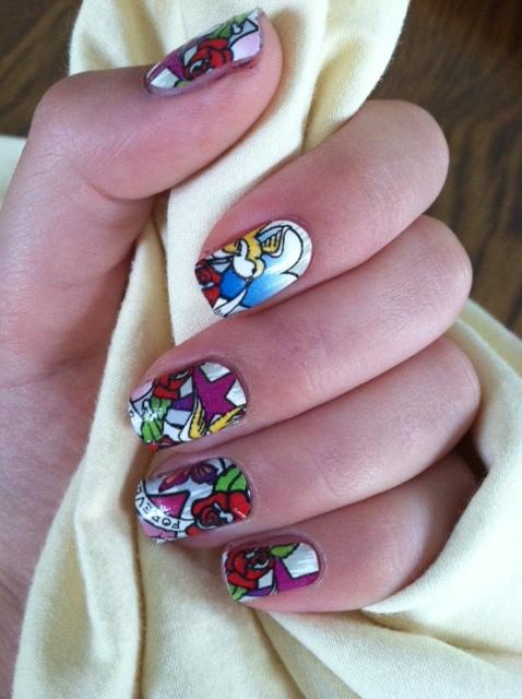 Ed Hardy Nails By Luvnub On Deviantart