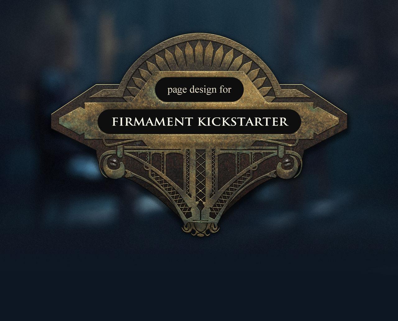 Firmament Kickstarter