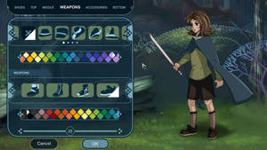 2D Character UI