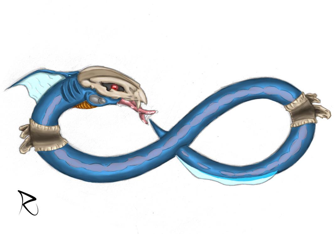 Infinity Ouroboros by krexor