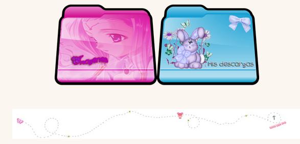 Paquete de iconos de carpetas by TutosLadyPink