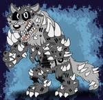 Twisted Silver Wolf