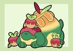 Appletun (with applin buddies)