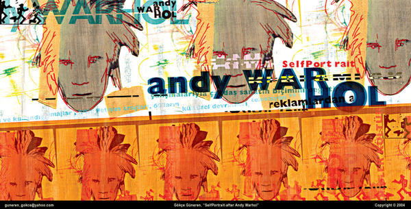 Andy Warhol-SelfPortrait by gokceguneren