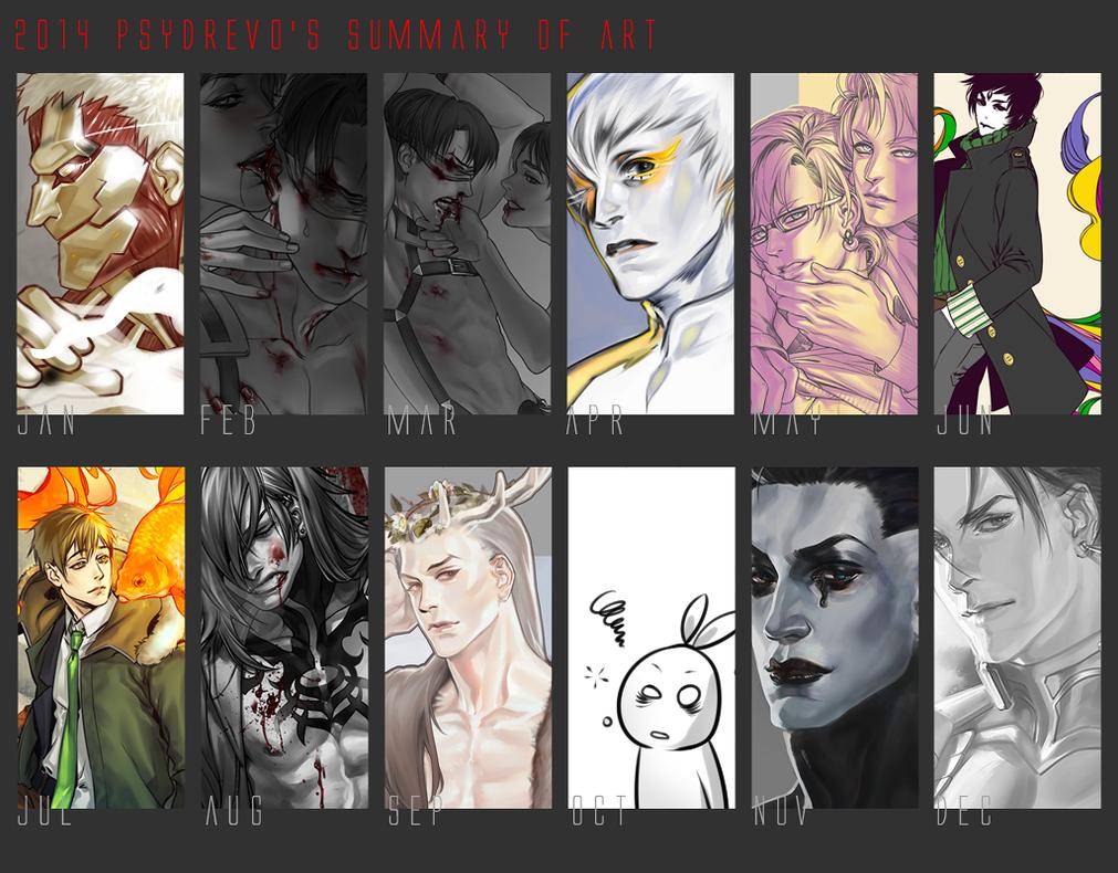 Summary of art 2014 by psydrevo