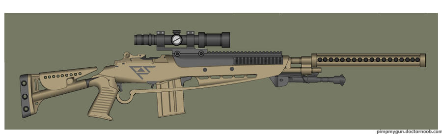 Wasteland Arms M14 Modular by Direrain