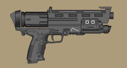 WA Custom Revolver by Direrain
