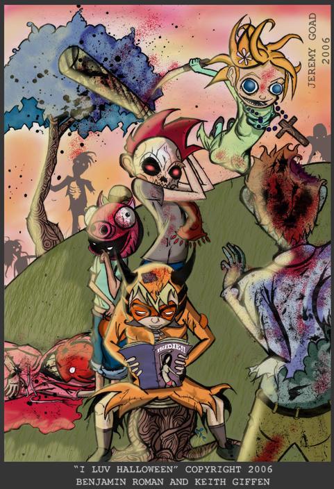 i luv halloween pin - I Luv Halloween Manga