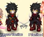 vanitas and female vanitas by GoldenSunBlue