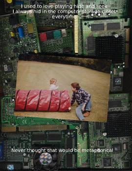 Computer closet
