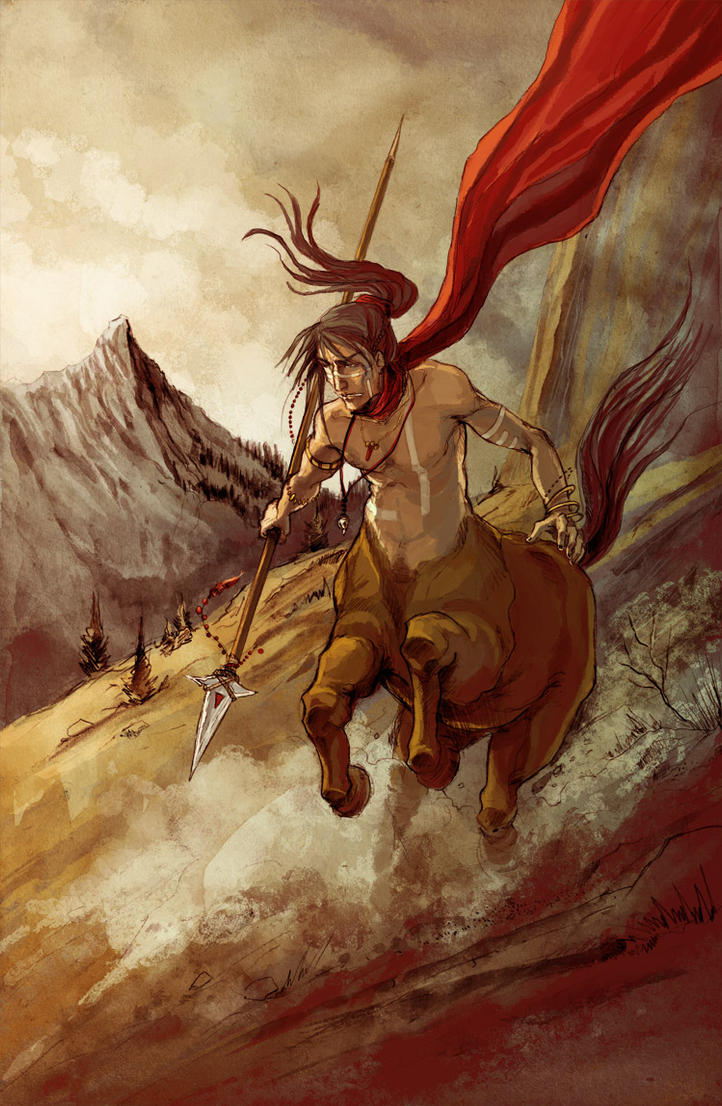 Random Centaur_by_Elvire