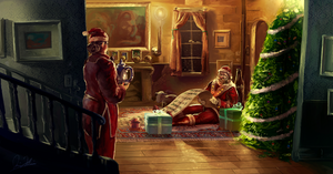 Santa Claus by jingsketch