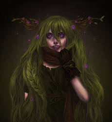 Swamp girl by Lixuu