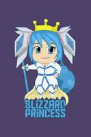 Chibi Blizzard Princess by Isux