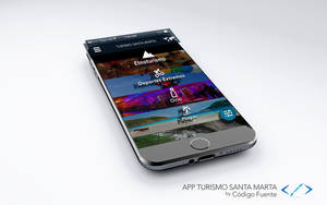 Preview App Turismo by Isux