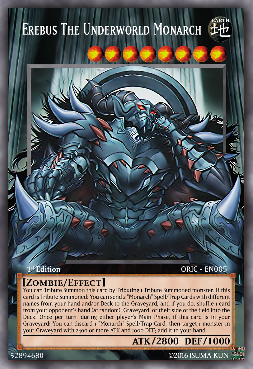 Erebus the underworld monarch orica by Isux